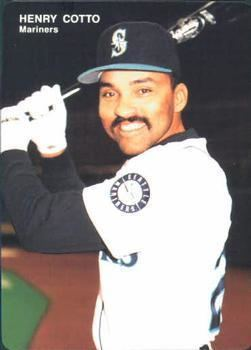 Henry Cotto 1993 Mothers Cookies Seattle Mariners Baseball Gallery The