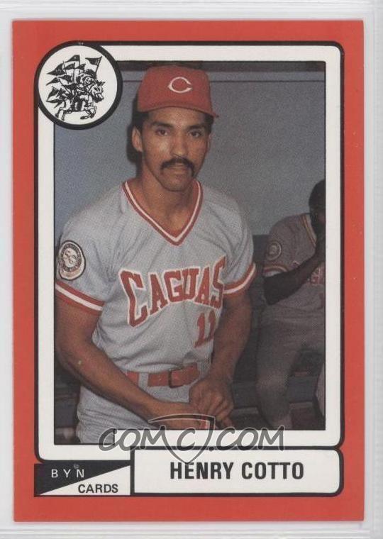 Henry Cotto Criollos de Caguas LBPRC All Baseball Cards COMC Card Marketplace