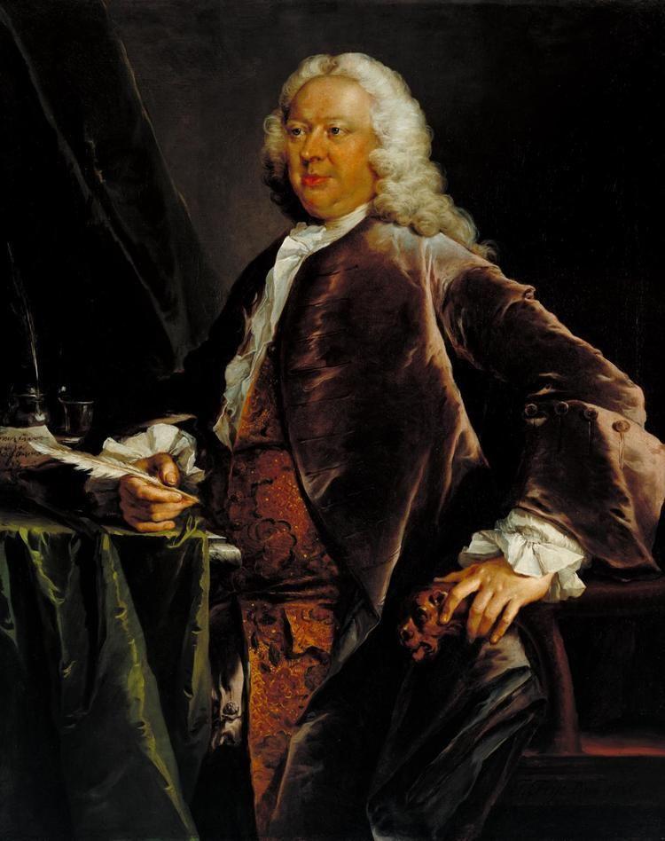 Henry Crispe Henry Crispe of the Custom House Thomas Frye 1746 Tate