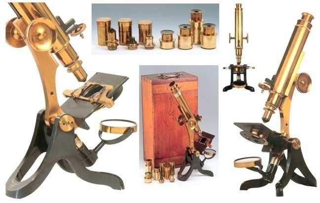 Henry Crouch Antique microscopes Henry Crouch