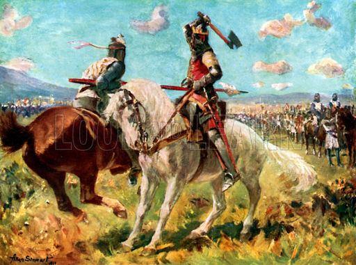 Henry de Bohun The Combat between King Robert the Bruce and Sir Henry de