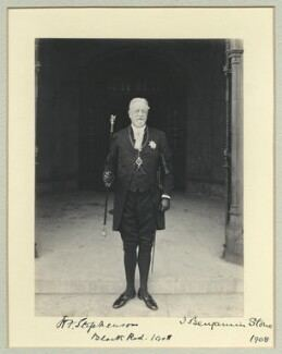 Henry Frederick Stephenson NPG x8699 Sir Henry Frederick Stephenson Portrait National