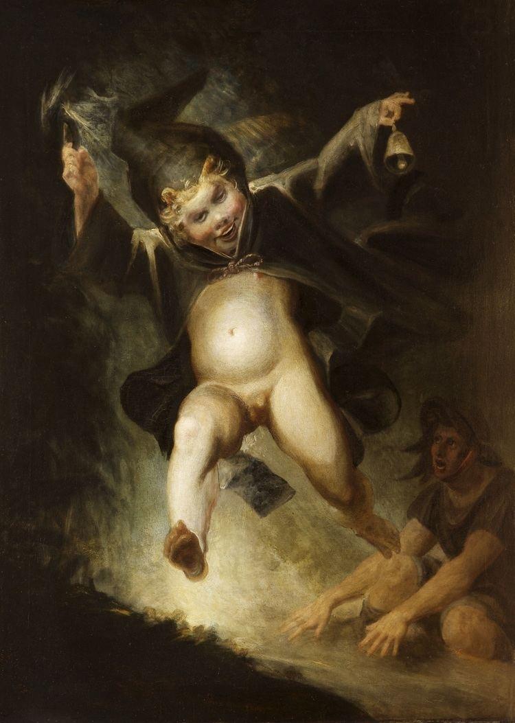 Henry Fuseli Friar Puck by Henry Fuseli Michael Escolme