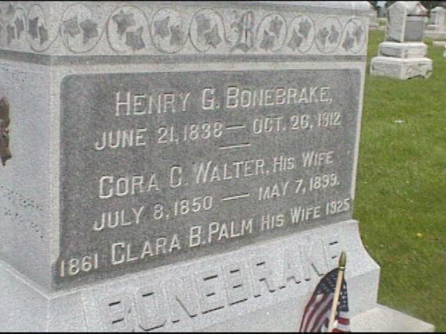 Henry G. Bonebrake Henry G Bonebrake 1838 1912 Find A Grave Memorial