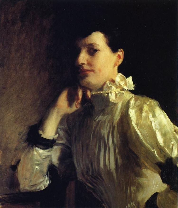 Henry Galbraith Ward Mabel Marquand Mrs Henry Galbraith Ward c1891 c1893 John