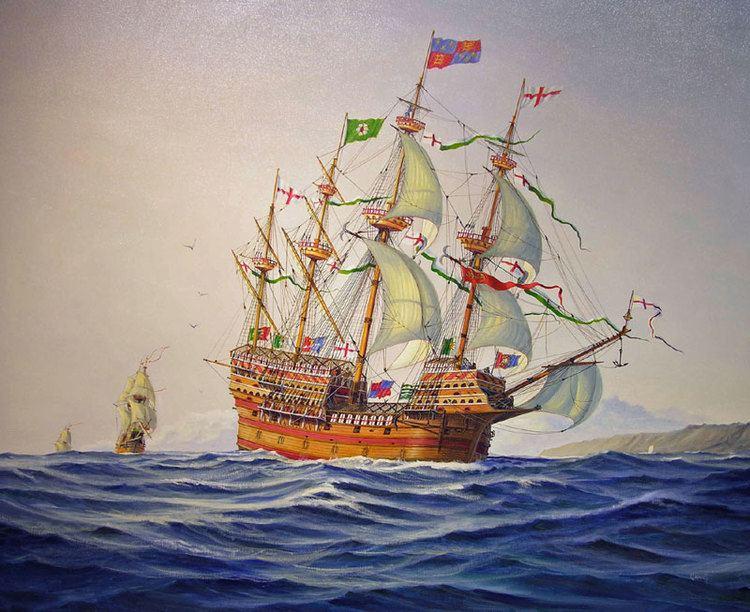 Henry Grace à Dieu Paul Garnett HENRY GRACE A39 DIEU 1545 Flagship of Henry VIII J