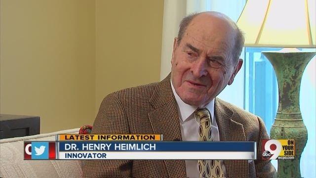 Henry Heimlich Henry Heimlich At 94 Cincinnati39s famous polarizing