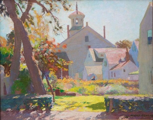 Henry Hensche Henry Hensche paintings at Cape Cod Museum of Art now