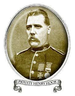 Henry Hook (VC) rorkesdriftvccom Pte Henry Harry Hook