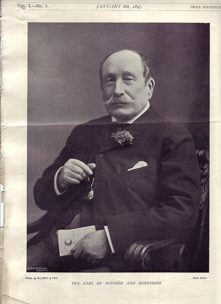 Henry Howard, 18th Earl of Suffolk
