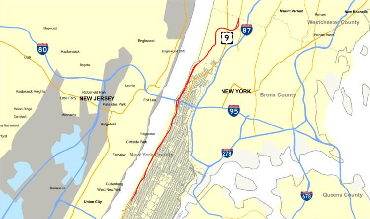 Henry Hudson Parkway