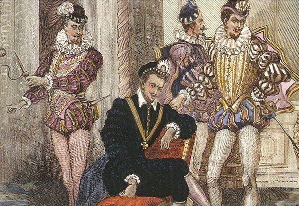 Henry III of France Gay Influence Henri III of France
