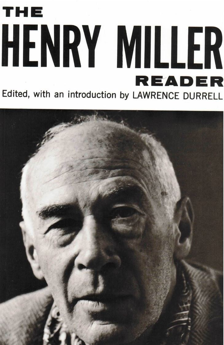 Henry Miller New Directions Publishing Company Henry Miller