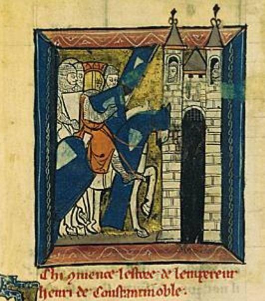 Henry of Flanders Today in History 20 August 1205 Henry of Flanders Crowned Emperor