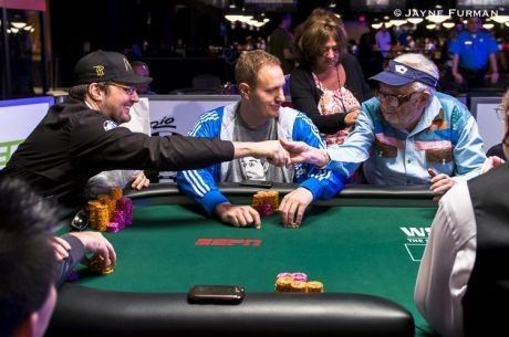 Henry Orenstein WSOP 2014 Doyle39s Son Hellmuth and the 91Year Old