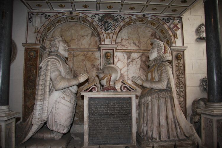 Henry Poole (died 1616) Sir Henry Poole 1541 1616 Find A Grave Memorial