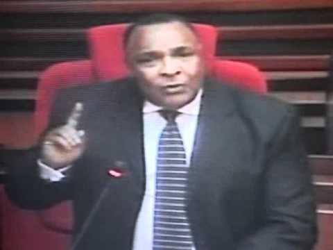 Henry Shekifu Mbunge wa Lushoto Mh Henry Shekifu akijadili hotuba ya Rais leo