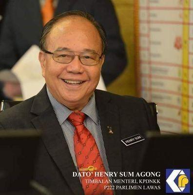 Henry Sum Agong Dato Henry Sum Agong on Twitter Do Muned Aco Lawe Rasmi YB DATO