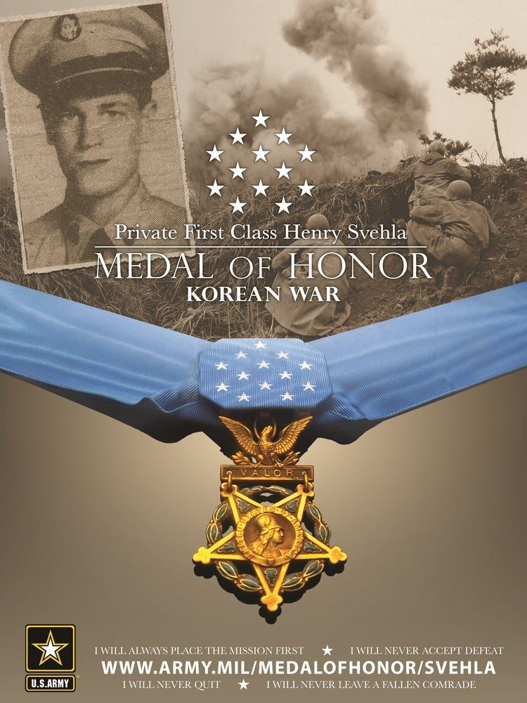 Henry Svehla FileHenry Svehla Medal of Honor graphicjpg Wikimedia Commons