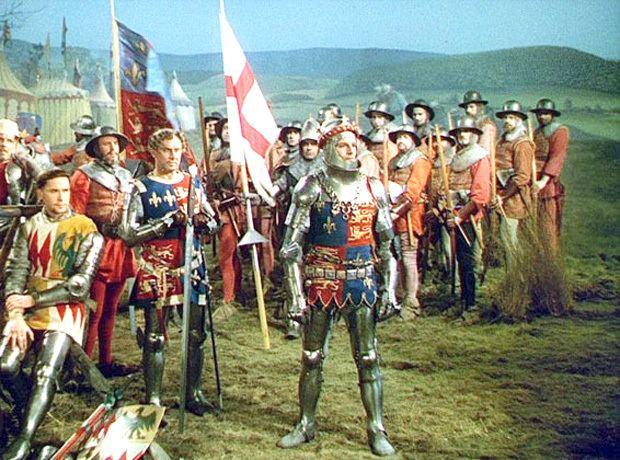 Henry V (1944 film) Review of Laurence Olivier in Henry V 1944