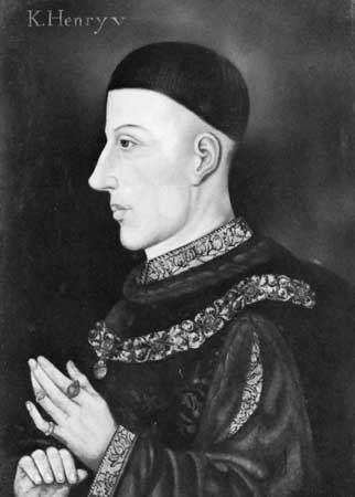 Henry V of England Henry V king of England Britannicacom