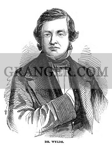 Henry Wylde Image of HENRY WYLDE 18221890 English Conductor Composer And