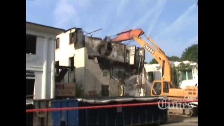 Henryton State Hospital Demolition of Henryton State Hospital YouTube