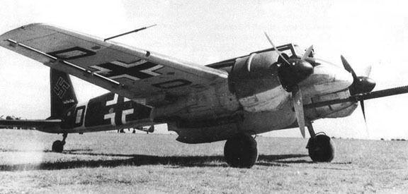 Henschel Hs 129 Luftwaffe Resource Center Bombers A Warbirds Resource Group Site