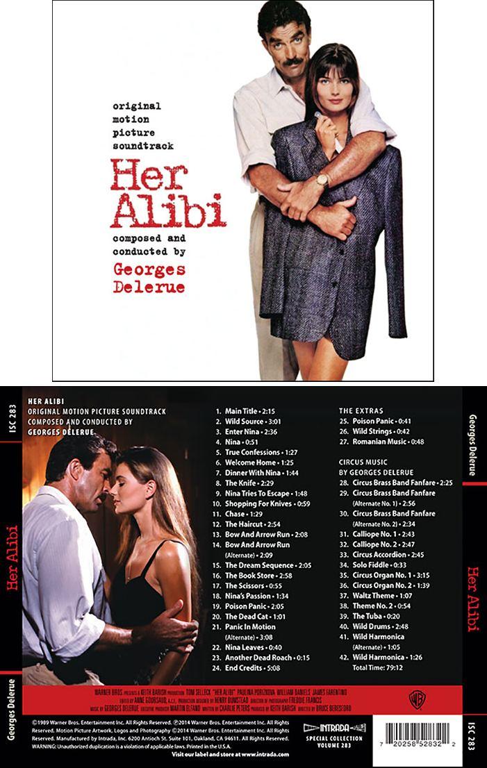 Her Alibi Her Alibi Soundtrack details SoundtrackCollectorcom