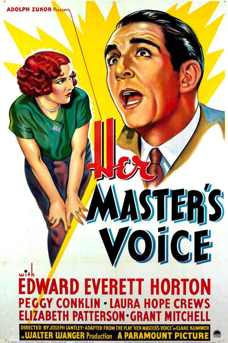 Her Master's Voice wwwgstaticcomtvthumbmovieposters46733p46733