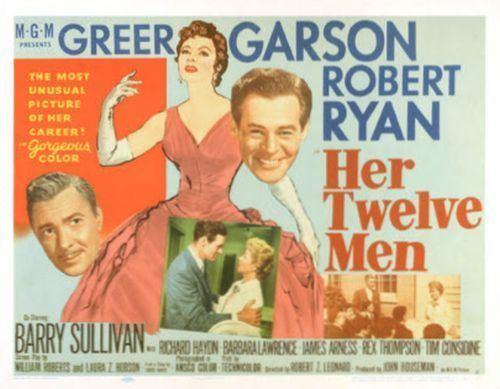 Her Twelve Men The Last Films Blogathon Douglas Shearer and Her Twelve Men 1954