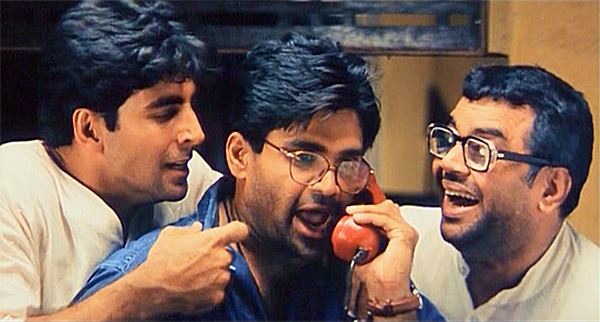 Hera Pheri (2000 film) movie scenes Hera Pheri