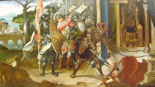 Heraclius Jan de Beer Byzantine Emperor Heraclius Beheading Khosrau II King