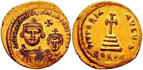 Heraclius Heraclius Byzantine Coinage WildWindscom