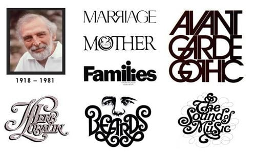 Herb Lubalin Great Names in Graphic Design The Life and Work of Herb