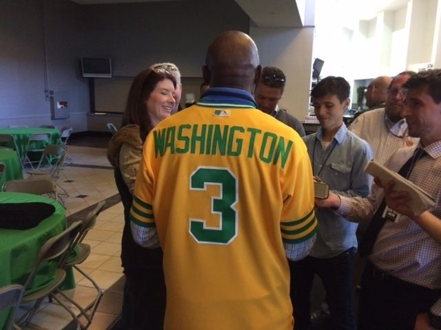 Herb Washington Herb Washington returns to Coliseum reflects on unique