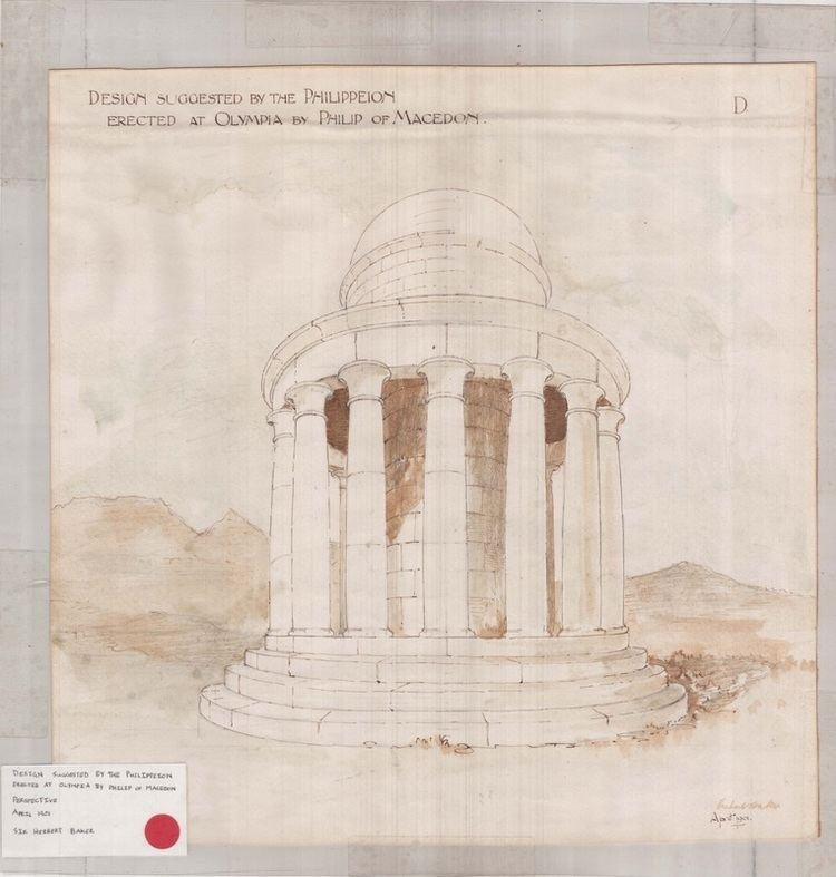 Herbert Baker Herbert Baker Architect for the Honoured Dead Memorial in