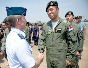 Herbert J. Carlisle COMPACAF thanks Airmen as Cope Tiger 13 concludes