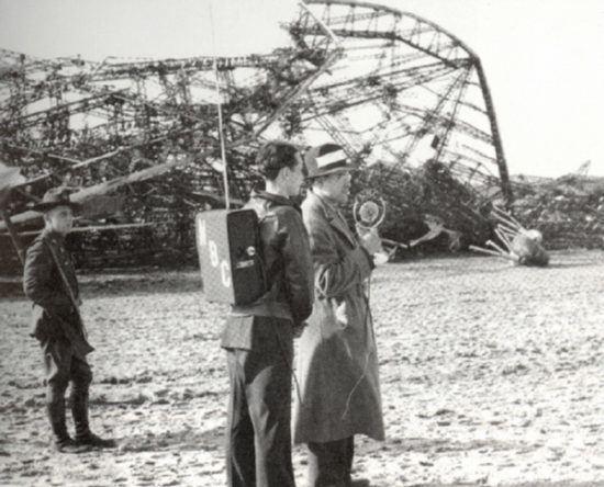 Herbert Morrison (announcer) Oh the Humanity Herbert Morrison and the Hindenburg