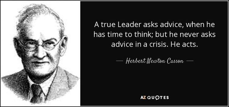Herbert Newton Casson TOP 15 QUOTES BY HERBERT NEWTON CASSON AZ Quotes
