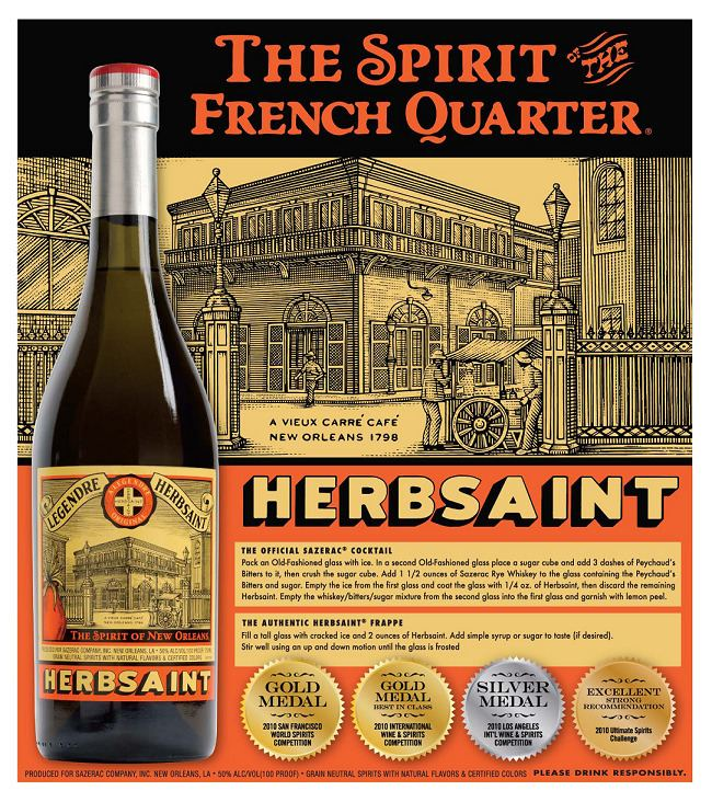 Herbsaint Looking for Absinthe Give the Herbsaint a Try The Kensington