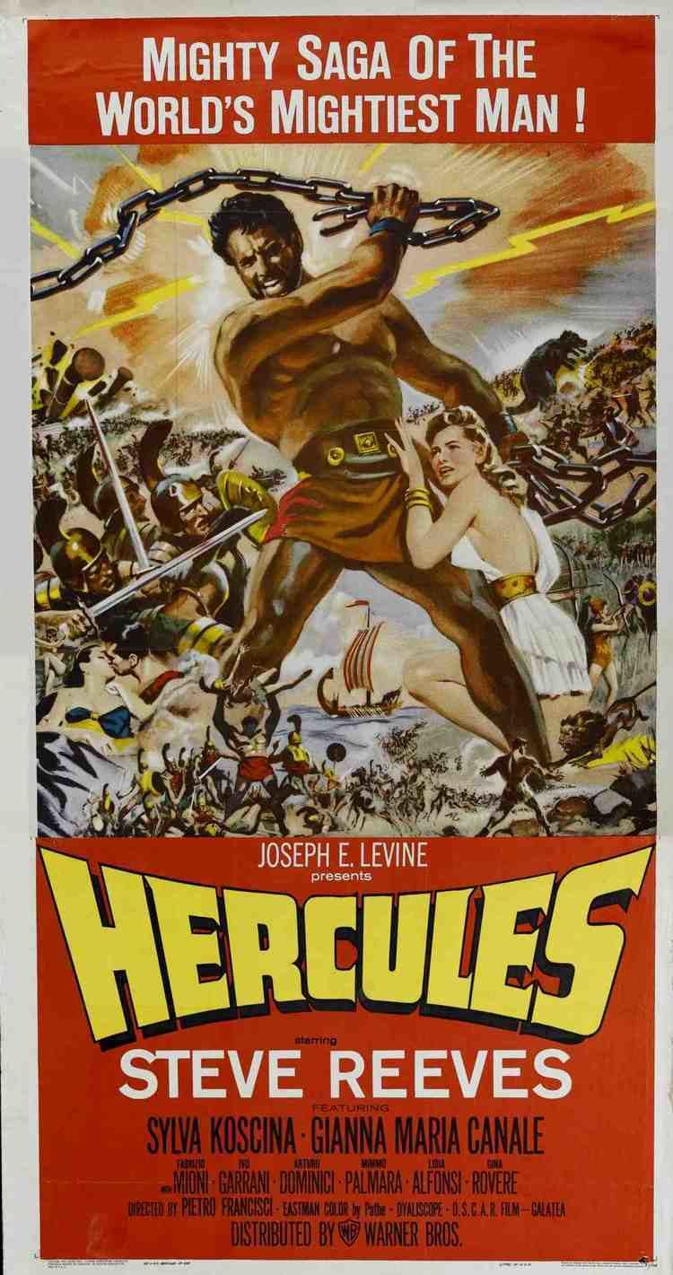 Hercules (1958 film) Steve Reeves and Sylva Koscina from 1958s Hercules Favorites