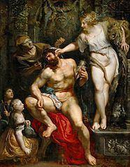 Hercules and Omphale (Rubens) httpsuploadwikimediaorgwikipediacommonsthu