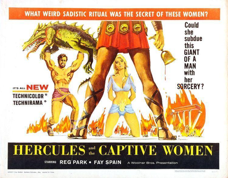 Hercules and the Conquest of Atlantis Poster for Hercules and the Captive Women Ercole alla conquista di