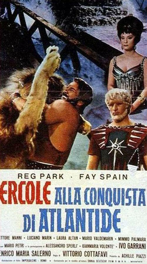 Hercules and the Conquest of Atlantis Hercules and the Conquest of Atlantis 1961 movie poster 4 SciFi