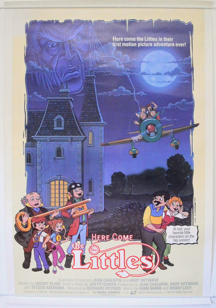 Here Come the Littles Here Come The Littles Original Cinema Movie Poster From