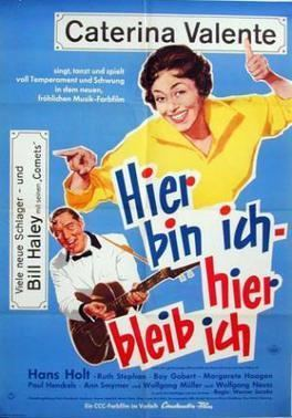 Here I Am, Here I Stay movie poster