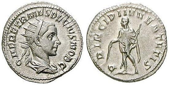 Herennius Etruscus Numismatikbibliothek Herennius Etruscus
