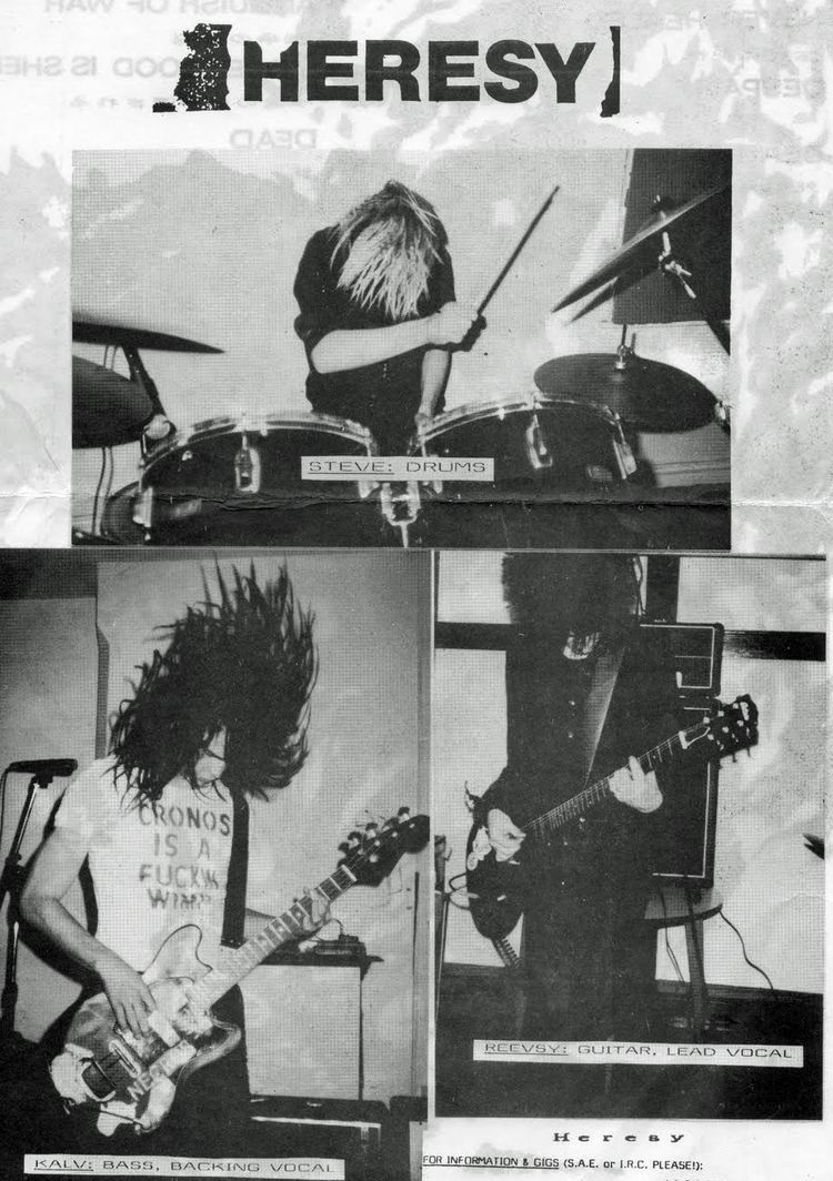 Heresy (band) Speakers Never Healed HERESY 198587 Metal Injection