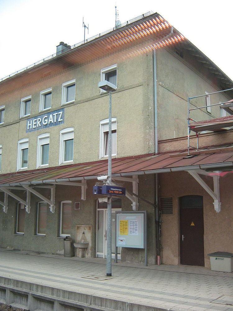 Hergatz station